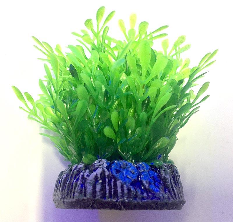 Planta Artificial P/ Aquarios Glossostigma 4cm Soma 071008  - KZ Power