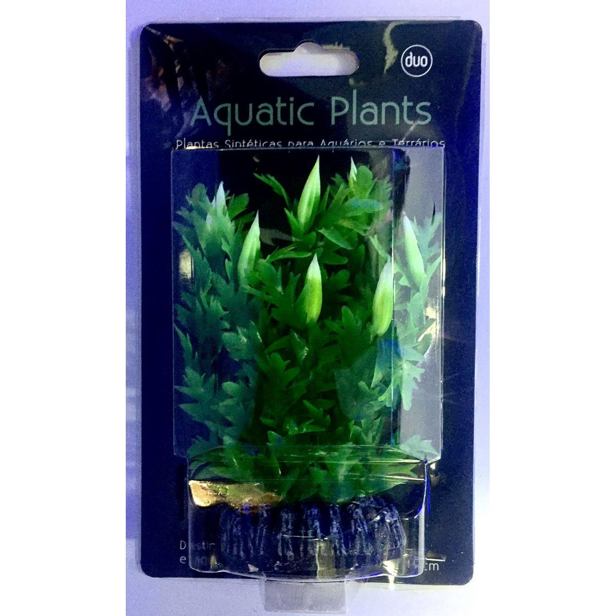 Planta Artificial P/ Aquarios Hygrophila 13cm Soma 040306  - KZ Power