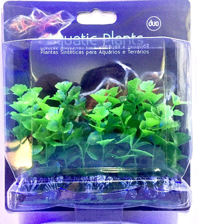 Planta Artificial P/ Aquarios Tapete Bacopa 10cm Soma 071722  - KZ Power
