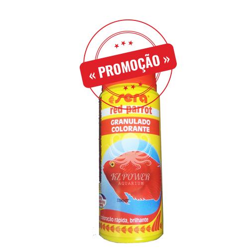 Ração Alimento Peixes Sera Red Parrot Peixes Papagaio 150gr  - KZ Power