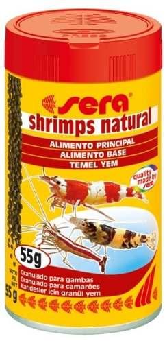 Ração Sera Shrimps Natural Granulado Para Camarões  55gr.  - KZ Power