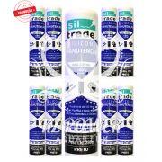9 tubos Siltrade Silicone Manutenção RTV 280gr Preto