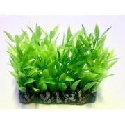 Planta Artificial P/ Aquarios Tapete Alternanthera verde 6cm Soma 071726