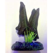 Planta Artificial P/ Aquarios Silk Ninfeia Rubra 4cm Soma 064523