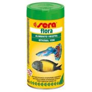 Ração Alimento Peixes Aquario Sera Flora 60gr