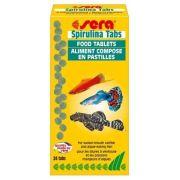 Ração Alimento Peixes Sera Spirulina 24 Pastilhas Excelente