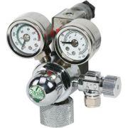 Valvula C/ 2 manometros e solenoide ista 110v. I-580