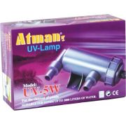 Filtro Uv 5w Atman Ultra Violeta Para Aquários E Lagos 110v.