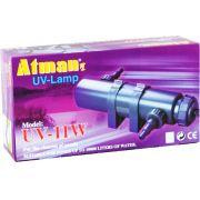 Filtro Uv 11w Atman Ultra Violeta Para Aquários E Lagos 220v.