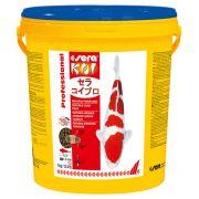 Ração sera KOI Professional alimento colorante de Spirulina 7kg