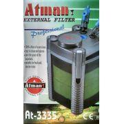 Filtro Canister Atman At-3335 600l/h Para Aquário Doce 110v.