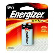 Bateria Energizer  9V Max 1 Unidade