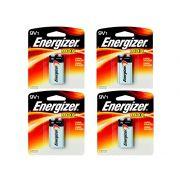 Bateria Energizer 9V Max 4 Unidades