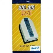 Compressor De Ar Big Air A320 p/ Aquários- 2 Saidas 127v.