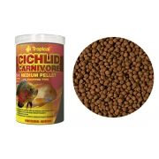 RAÇÃO CICHLID CARNIVORE MEDIUM PELLET 360gr TROPICAL