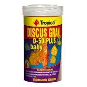 RAÇÃO  DISCUS GRAN D-50 PLUS BABY 52gr TROPICAL