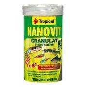 RAÇÃO NANOVIT GRANULAT 70gr TROPICAL