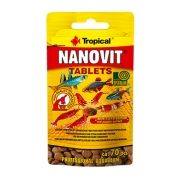RAÇÃO NANOVIT TABLETS 10gr TROPICAL