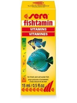 Sera Fishtamin 15ml Complexo De Vitaminas P/ Todos Os Peixes  - KZ Power
