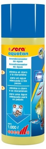 Sera Aquatan 250ml Condicionador P/ Aquarios Trata Até 1000l  - KZ Power