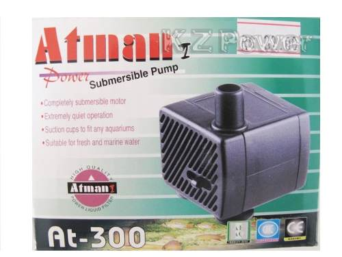 Bomba Submersa Atman At-300 180 L/hora Disponivel Em 110v.  - KZ Power