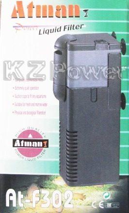 Filtro Interno Atman At F302 500 L H Disponivel Em 110v Kz Power Aquarismo Marinho E Ornamental