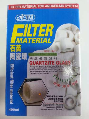 Ceramica Ista Quartz Glass 400ml Com Bolsa I-241  - KZ Power