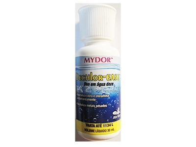 Dechlor Ease 30ml Mydor Remove Cloro Cloramina Trata 1100 L  - KZ Power