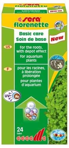 Sera Florenette 24 Tabs Ideal Para Aquarios Plantados  - KZ Power