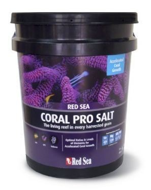 Sal Red Sea Coral Pro - Balde Com 22 Kilos Faz 660 Litros  - KZ Power