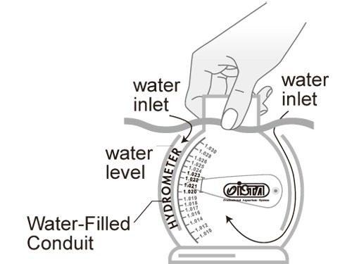 Densimetro ( Hydrometro ) Para Aquario Marinho Ista I-808  - KZ Power