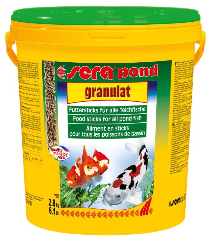 Ração sera pond granulat balde 2,8kg  - KZ Power