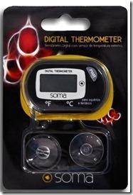 Termometro Digital Ext. Soma P/ Aquario C/ Sensor De Precisão  - KZ Power