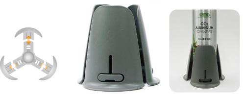 Suporte base para cilindros ista de 500ml e 1L I-559  - KZ Power