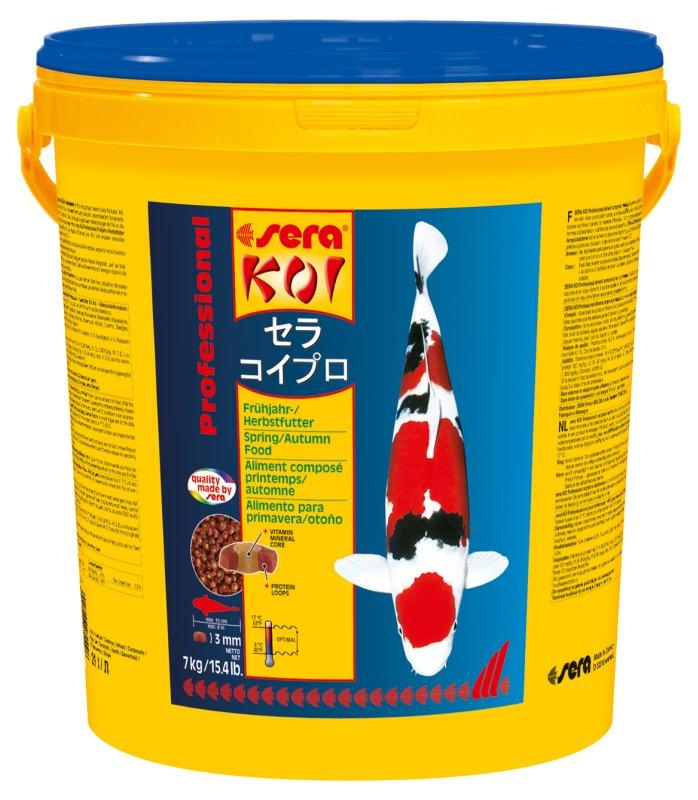Ração Sera Koi Professional alimento de primavera/outono 7Kg.  - KZ Power