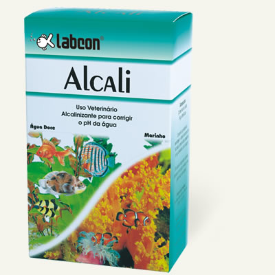 Labcon Alcali 15ml eleva o ph da água  - KZ Power