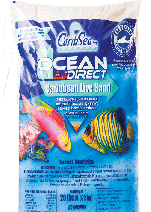 Caribsea Ocean Direct Live Oolitic Aragonita 9kg  - KZ Power