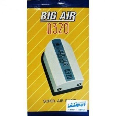 Compressor De Ar Big Air A320 p/ Aquários- 2 Saidas 127v.  - KZ Power