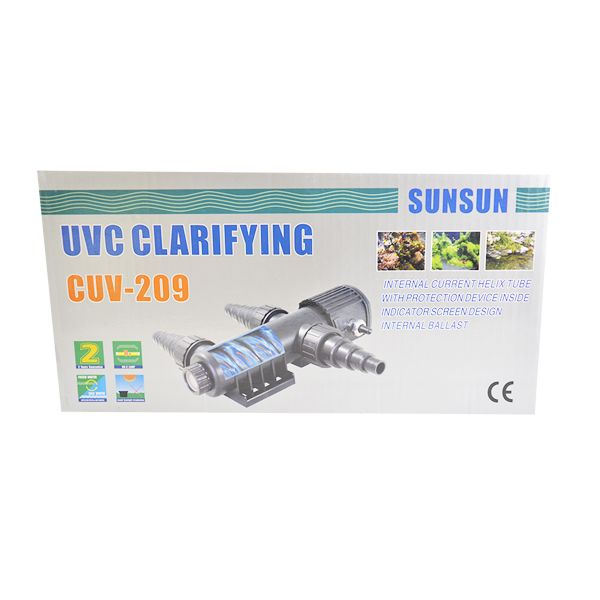 Filtro Uv Externo Sunsun Cuv-209a 9w 220v - KZ Power