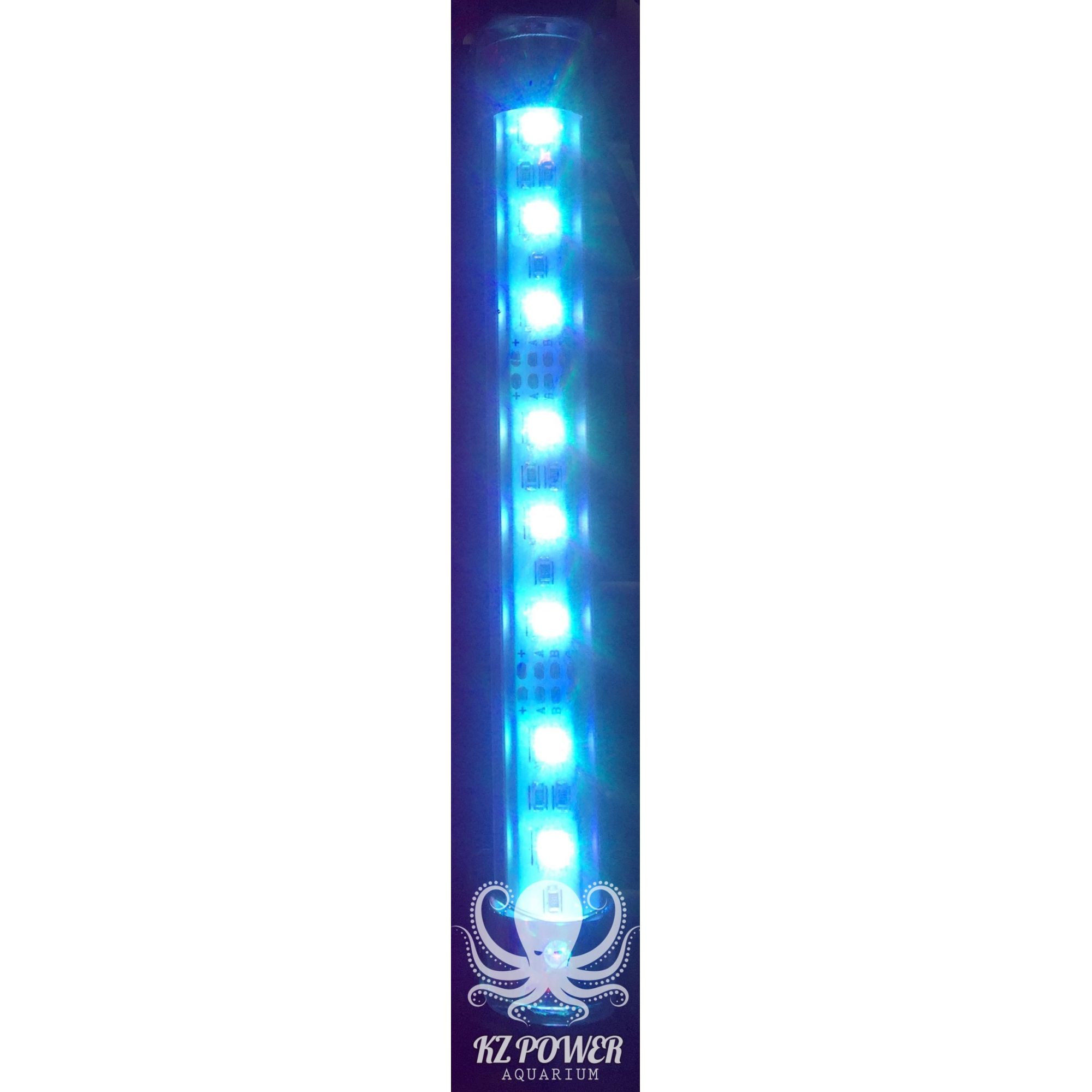 Luminaria Led Aqualumi RGB 30cm + Fonte e controle remoto  - KZ Power
