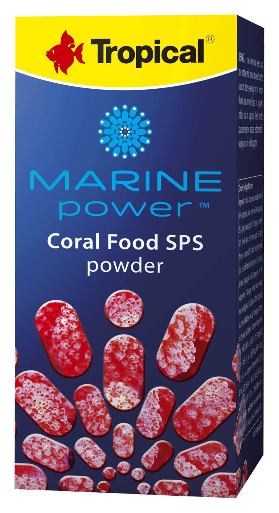 Marine Power Coral Food SPS Powder 70gr   - KZ Power