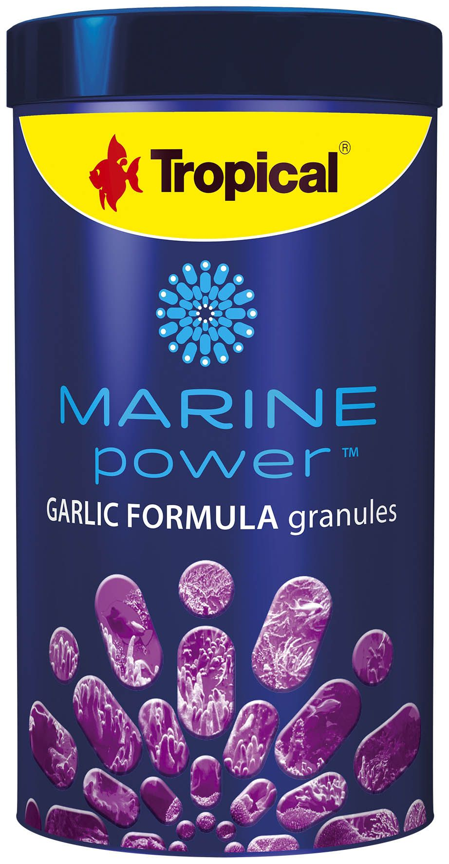 Marine Power Garlic Formula Granules 150gr  - KZ Power