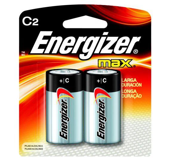 Pilha Energizer Max SM Média C2 Cartela c/ 2 unidades  - KZ Power