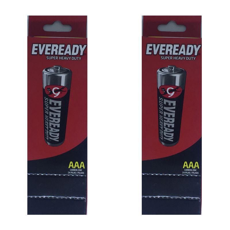 Pilha Eveready Palito AAA2 48 Pilhas  - KZ Power