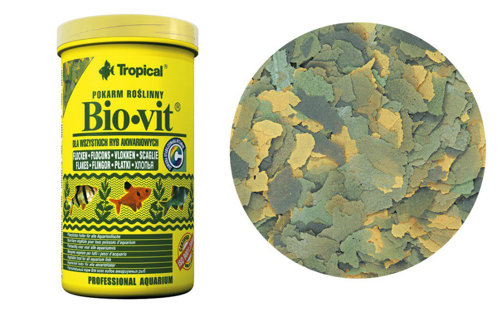 RAÇÃO BIO-VIT FLOCOS 50gr TROPICAL  - KZ Power