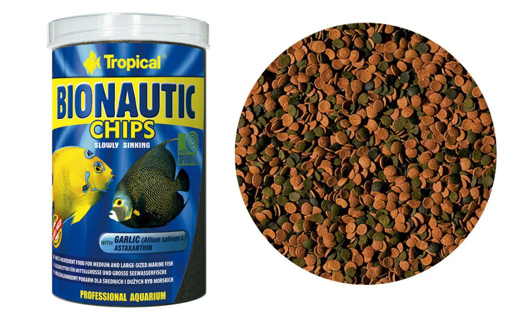 RAÇÃO BIONAUTIC CHIPS 520gr TROPICAL  - KZ Power