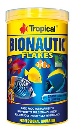 RAÇÃO BIONAUTIC FLAKES 200gr TROPICAL  - KZ Power