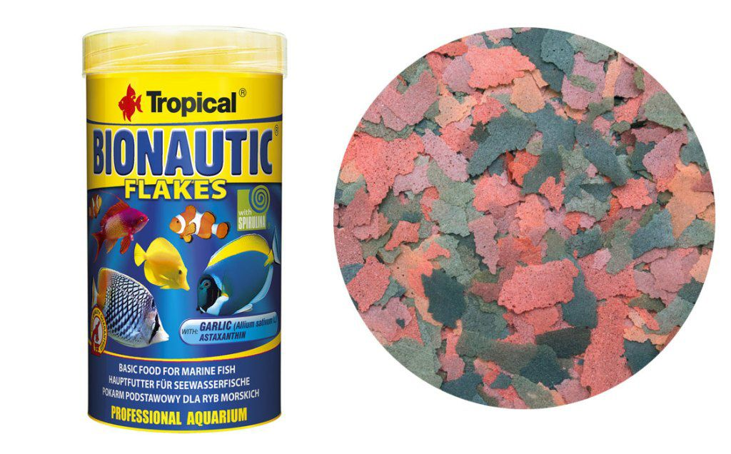 RAÇÃO BIONAUTIC FLAKES 20gr TROPICAL  - KZ Power