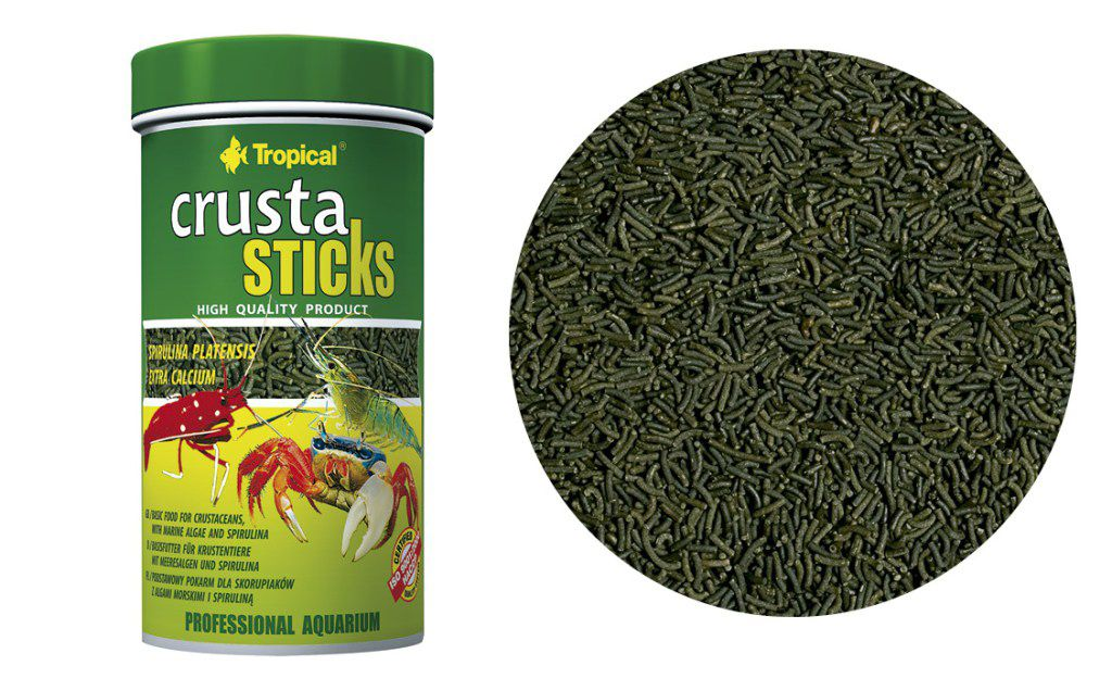 RAÇÃO CRUSTA STICKS 70gr TROPICAL  - KZ Power