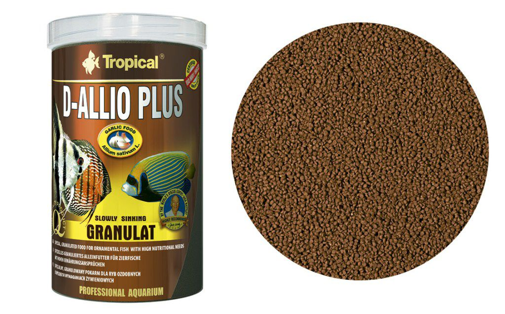 RAÇÃO D-ALLIO PLUS GRANULAT 600gr TROPICAL  - KZ Power